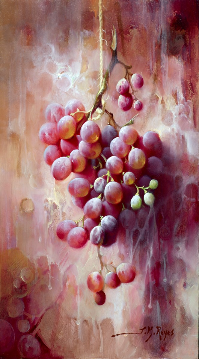 Uvas Frescas II by j m reyes -  sized 9x16 inches. Available from Whitewall Galleries